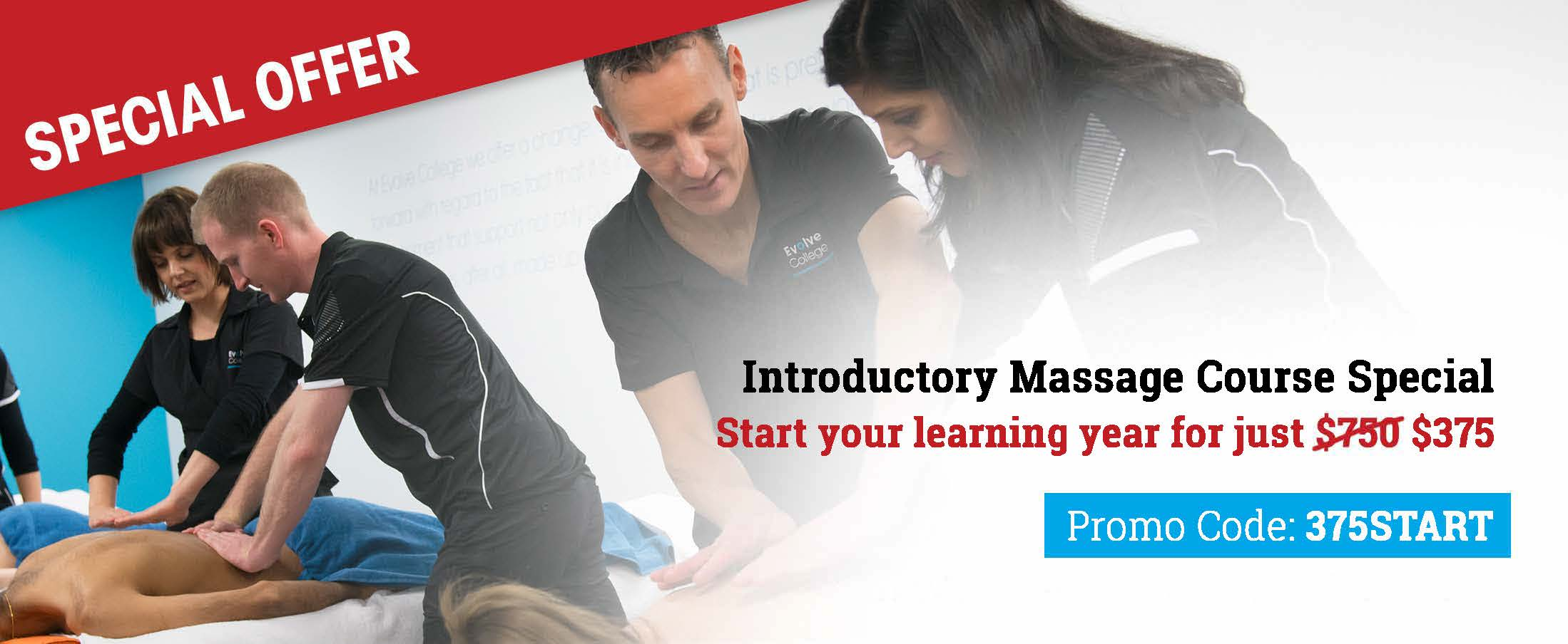 Introductory Massage Evolve College